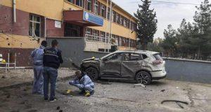 اطلاق صواريخ على مدينة تركية على الحدود السورية